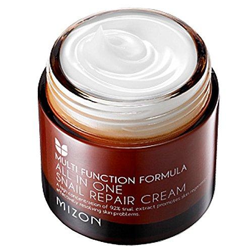 MIZON All In One Snail Repair Cream 75ml Face Cream Skin Care Moisturizing Anti aging Anti wrinkle Facial Cream Korean Cosmetics Generic