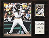 MLB Pittsburgh Pirates Starling Marte Player Plaque
