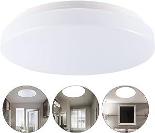 LEDGLE 13W Flush Mount LED Ceiling Lights, IP44 Waterproof, 11-Inch Ø 26cm, 960LM, 3000K Warm White Ceiling Down lighting for Kitchen Bathroom Hallway Dining Room