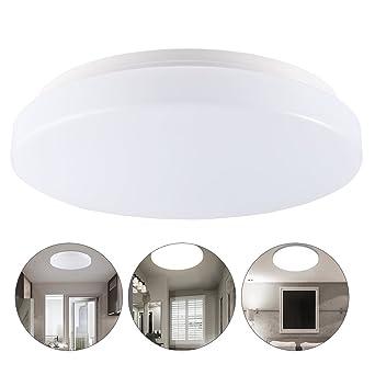 LEDGLE Plafonnier LED Salle de Bain 13W Lampe de Plafond Design Etanche  IP44, Eclairage Intérieur pour Cuisine, Chambre, Salon,Salle à Manger, 960  ...