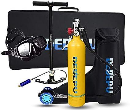 SMACO S400 Mini Scuba Diving Equipment Kit 1L Tank Underwater Breathing+Air Pump