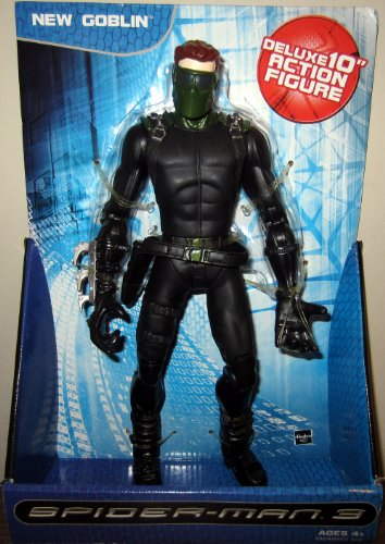 10″ Inch New Goblin (Spider-Man 3) Deluxe Action Figure