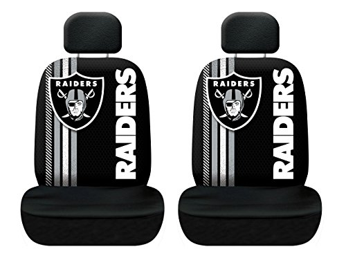 Fremont Die NFL Oakland Raiders Rally Seat Cover, One Size, Black