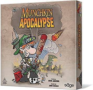Asmodee - Juego de Cartas Munchkin [versión Francesa]: Amazon.es: Juguetes y juegos