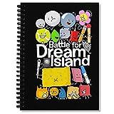 Spiral Notebook Bfdi Black Composition Notebooks