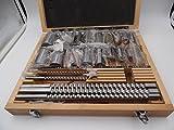 30pcs Keyway Broach Set 5pcs Broaches 1/2''-1-1/2'' + 18pcs Bushings + 7 Shims