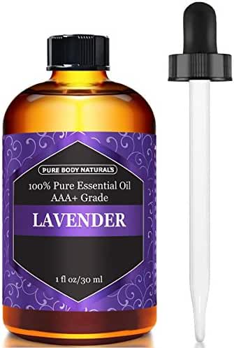 Pure Body Naturals Bulgarian Lavender Essential Oil, 1 Fl. Ounce (30 ml) (Packaging may vary)