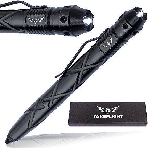 Tactical Pen Self Defense Tool (Black) - 8
