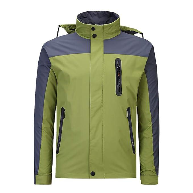 CAMP JACKET Impermeable Chaquetas de esquí para Las Mujeres y Hombres Traje de esquí Abrigo de