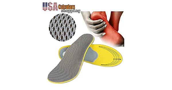 Amazon.com: Plantillas ortopédicas para zapatos, pies planos ...