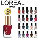 Loreal Nail Polish Colors L'Oreal Paris Extraordinaire Gel-Lacque 1-2-3 Nail Color Set 10-Piece Collection Random