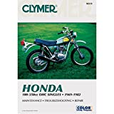 Clymer Honda 100-350cc Manual M315