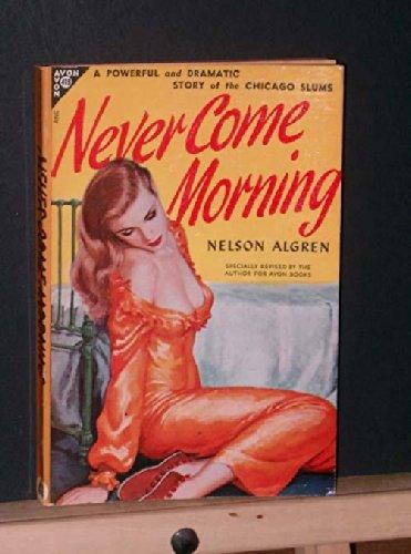 Never Come Morning (Avon #419), Algren, Nelson