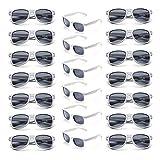 Onnea Wholesale Multi Pack Unisex 80'S Retro Vintage Style Promotional Sunglasses for Party Supplies