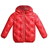 Kids Solid Hoodie Outerwear, Familizo Deals! Kids Baby Winter Solid Coat Cloak Jacket Comfortable Casual Baby Clothes Thick Warm Hoodie Outerwear Clothes for Inside Outside