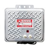 RED SNAP'R EAC20M-RSS Steel 20 Mile AC Fence Charger