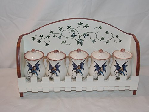 ACK Retired Collectible Amy Brown Fairy Collection 5 Piec...