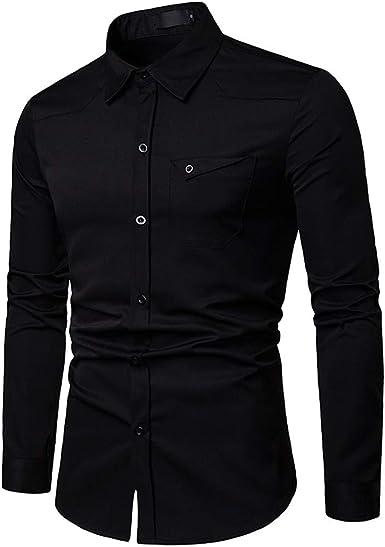 Jotebriyo Mens Fleece Winter Casual Business Print Long Sleeve Button Up Dress Work Shirt