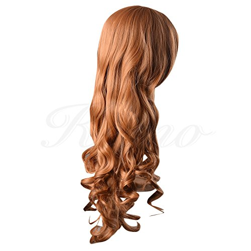 Kamo 32″ 80cm Spiral Curly Cosplay Costume Wig