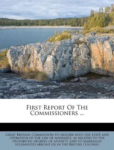 First Report Of The Commissioners ... pdf
