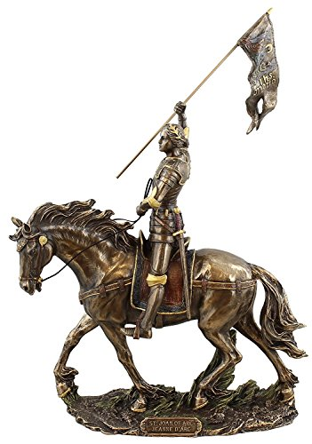 Sale - Joan of Arc on Horse Back with Flag