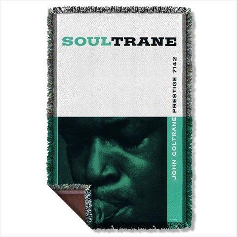 Concord Music Soul Trane John Coltrane Sublimation Woven Throw