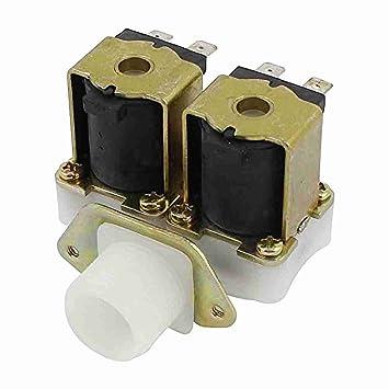 G3/4 1 2 inlet outlet de agua válvula solenoide de CC de 12 V para ...
