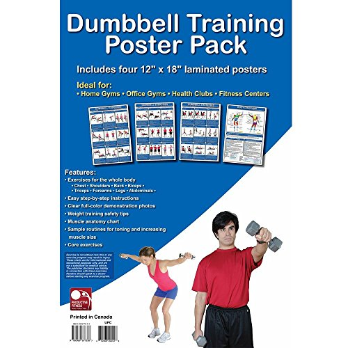 Complete Productive Fitness Exercises Laminated product image