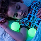LED Baby Night Light Glo Ball Nightlight for Kids Baby Sleeping Bedroom Lamp with Colors Adjustable (Multicolor)