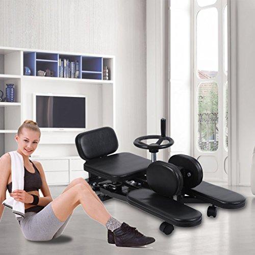 Homgrace Pro Leg Stretch Machine, Heavy Duty Steel Frame Leg Stretcher Training Leg Splitter Gym Gear Fitness Equipment by Homgrace (Image #1)