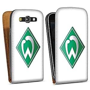Diseño para Samsung Galaxy S3 i9300 / LTE i9305 DesignTasche white - Werder Bremen weiß