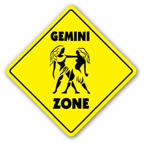 GEMINI ZONE Sign novelty gift zodiac horoscope