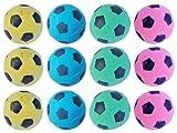 FOAM Soccer Balls Cat Toys – 12 Pack, My Pet Supplies