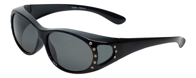 39eea9515a80f Amazon.com  Polarized Wear-Over Sunglasses by Calabria 2866  Clothing