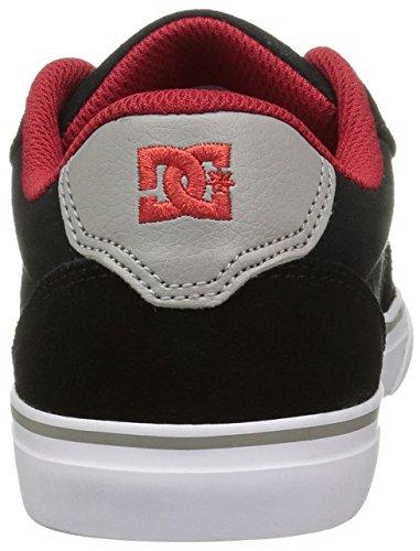 DC APPARELAnvil - de baloncesto, caña baja Niños Black/Red/Grey