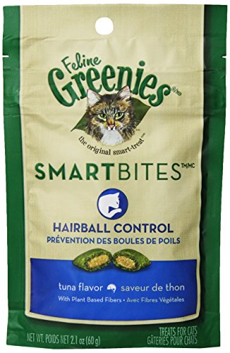 Feline Greenies 6-Pack Feline Smart Bites Treat, Tuna, 2.1-Ounce
