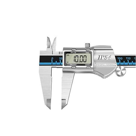 Calibrador a Vernier, Regla de medición, Pantalla digital ...