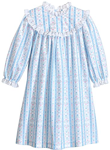 Lanz of Salsbury Little Girls' Toddler Girls Blue Novelty Gown, Blue, 2T