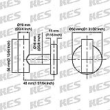 KES Towel Hook, A2164DG-P2-P