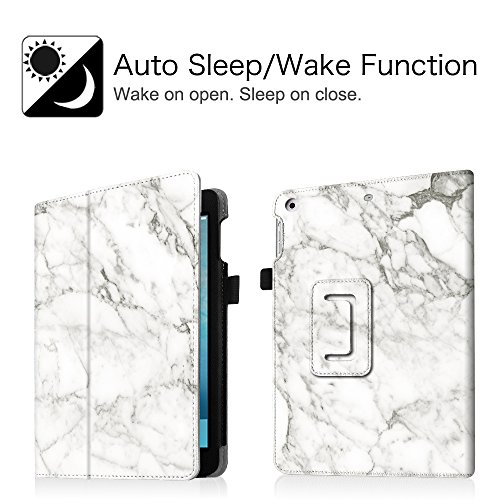 Fintie iPad mini 1/2/3 Case - Folio Slim Fit Stand Case with Smart Cover Auto Sleep / Wake Feature for Apple iPad mini 1 / iPad mini 2 / iPad mini 3, Marble Photo #6
