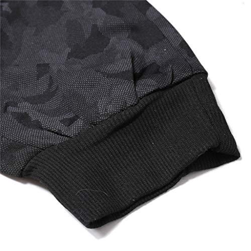 Noir Mode En Survêtement Pantalon À Hommes Fixation Pour Vrac Sportive Pantalons Holywin De Camouflage g4B4On