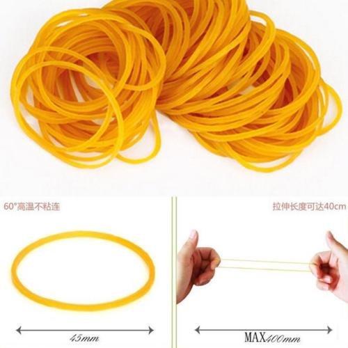Gozebra(TM) 100pcs/pack 45mm Rubber Office Tool Rubber School Business Household Supplies