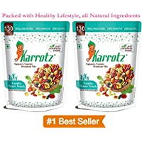 Karrotz Healthy Top Quality Berries, Fruits, Nuts, Seeds for Breakfast, Topping or Snacking, 100g - Pack of 2