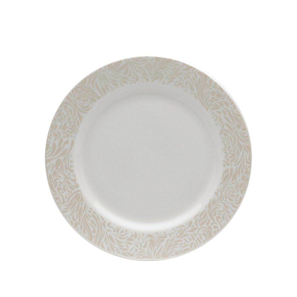 Denby Monsoon Home Lucille Gold 8-1/2-Inch Salad Plate