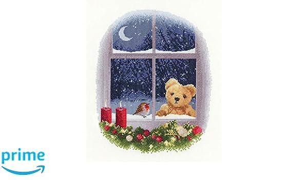 Aida Heritage Crafts John Clayon Collection Kit de punto de cruz dise/ño de William at Christmas