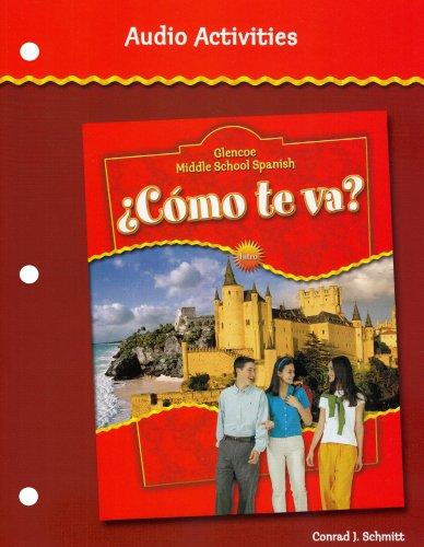 ¿Cómo te va? Intro Nivel rojo, Glencoe Middle School Spanish, Audio Activities