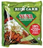Nona Rice Cake (Ketupat), 9-Ounce Packages (Pack of 10)