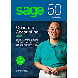 Sage 50 Quantum Accounting 3 user Latest Version Traditional Business Care