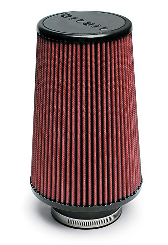 Airaid 700-420 Universal Clamp-On Air Filter: Round Tapered; 3.5 in (89 mm) Flange ID; 9 in (229 mm) Height; 6 in (152 mm) Base; 4.625 in (117 mm) Top