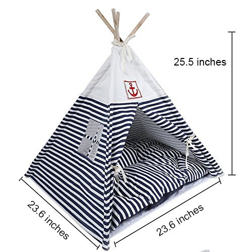 Portable Teepee Stripe Breathable Washable product image